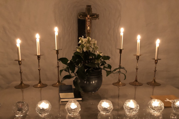 Klosterkirken er åben